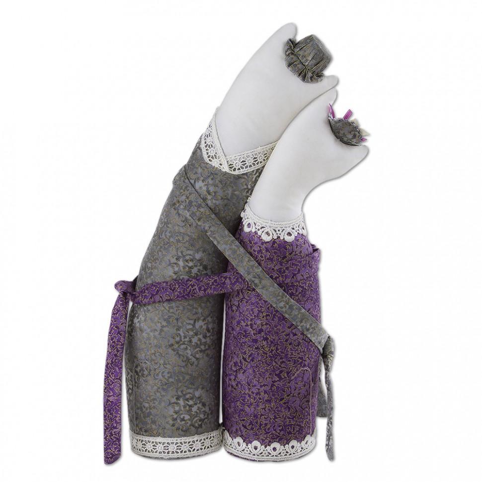 Кукла тильда коты обнимашки 163